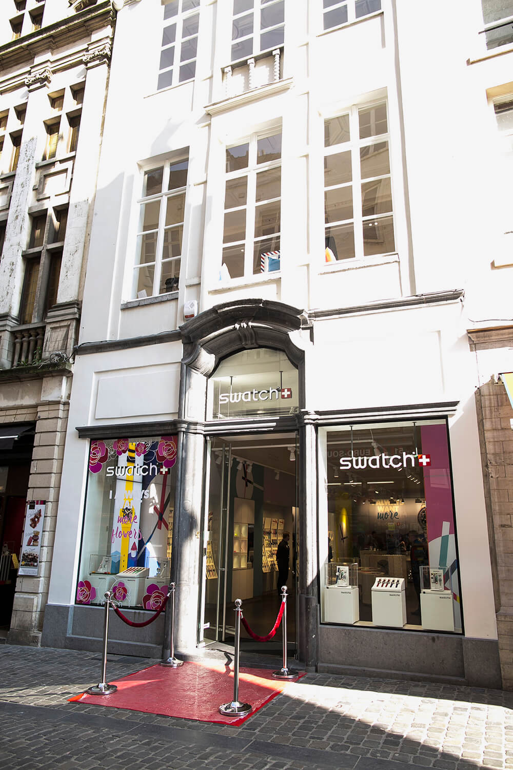 Swatch Flagship - Rue au Beurre 42